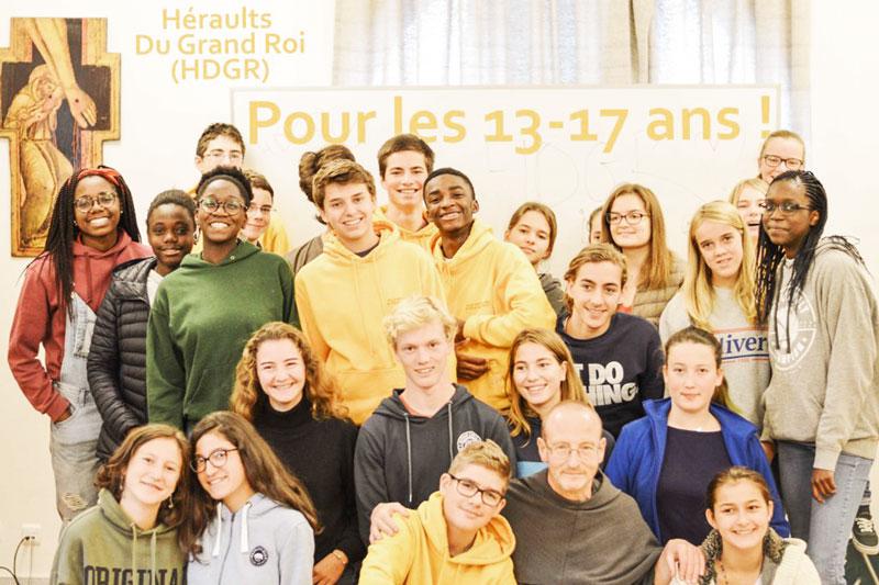 Hérauts du Grand Roi – 12 à 17 ans